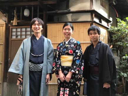 2017.11.15(水)きものの日利用京大生
